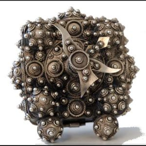 RARE John Hardy SO COOL Sterling Silver Clock